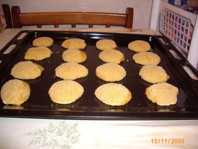 Mini-Harcha ou Mini-7archa marocaine sucrée à base de farine de maïs Photo_33