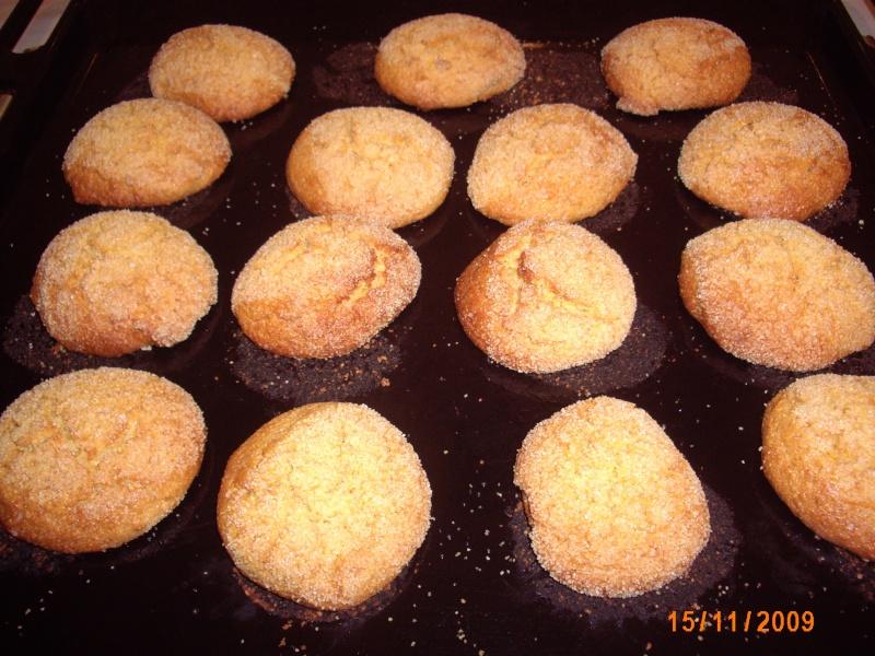 Mini-Harcha ou Mini-7archa marocaine sucrée à base de farine de maïs Photo_34