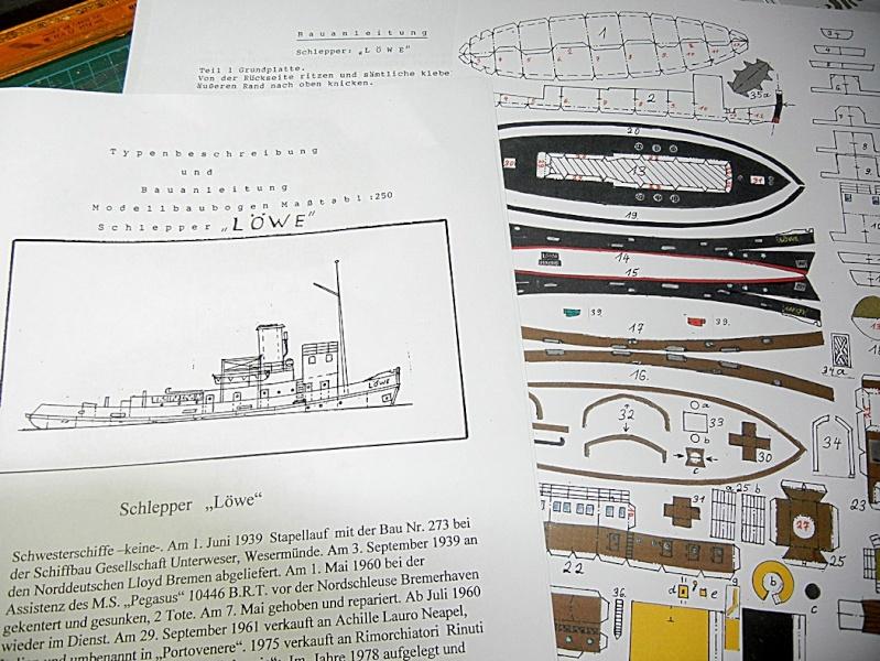 Schlepper Löwe, Walter Otten Modellbau, 1:250 Lawe_110