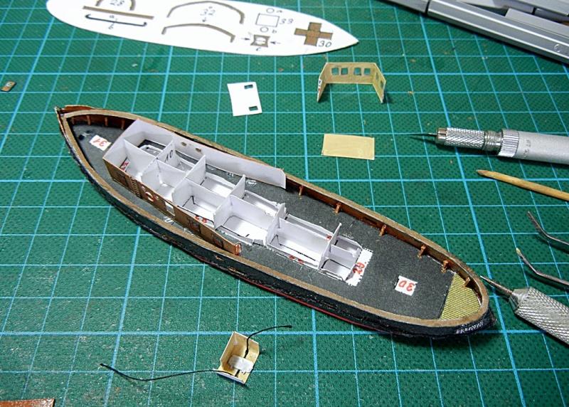Schlepper Löwe, Walter Otten Modellbau, 1:250 Lawe_215