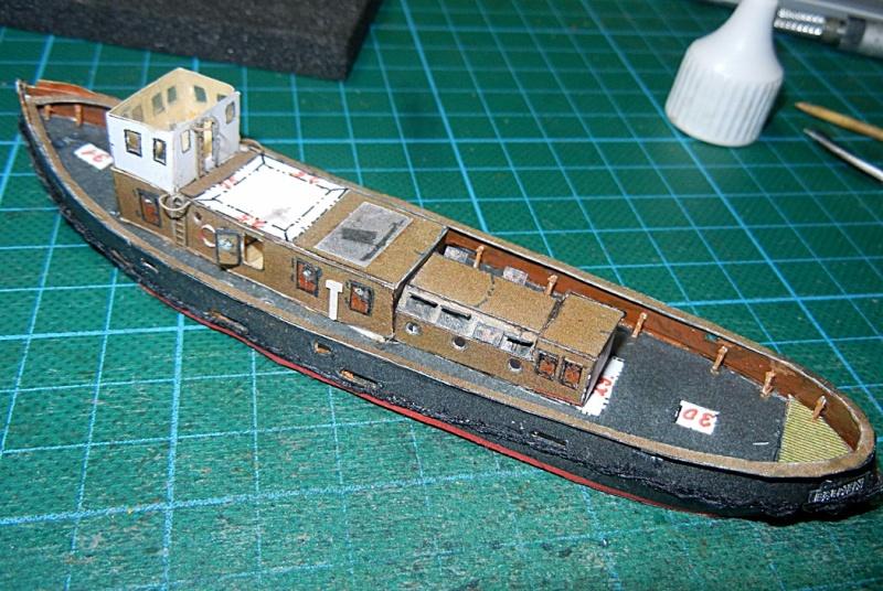 Schlepper Löwe, Walter Otten Modellbau, 1:250 Lawe_313
