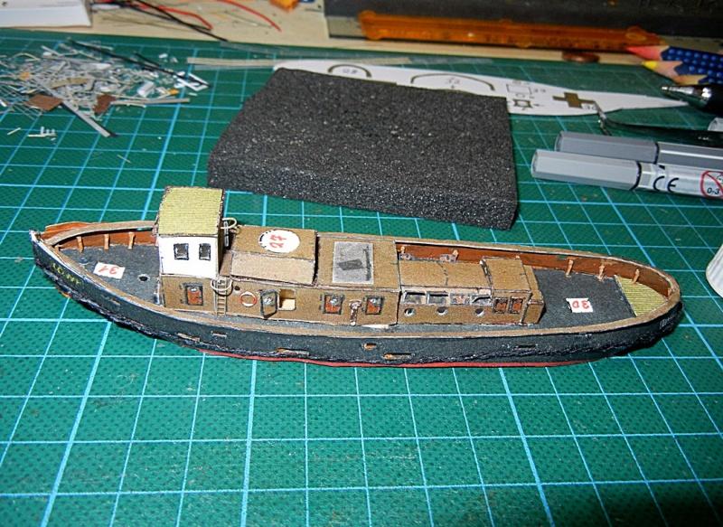 Schlepper Löwe, Walter Otten Modellbau, 1:250 Lawe_411