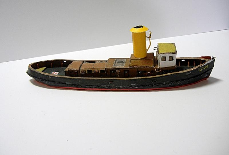 Schlepper Löwe, Walter Otten Modellbau, 1:250 Lawe_611