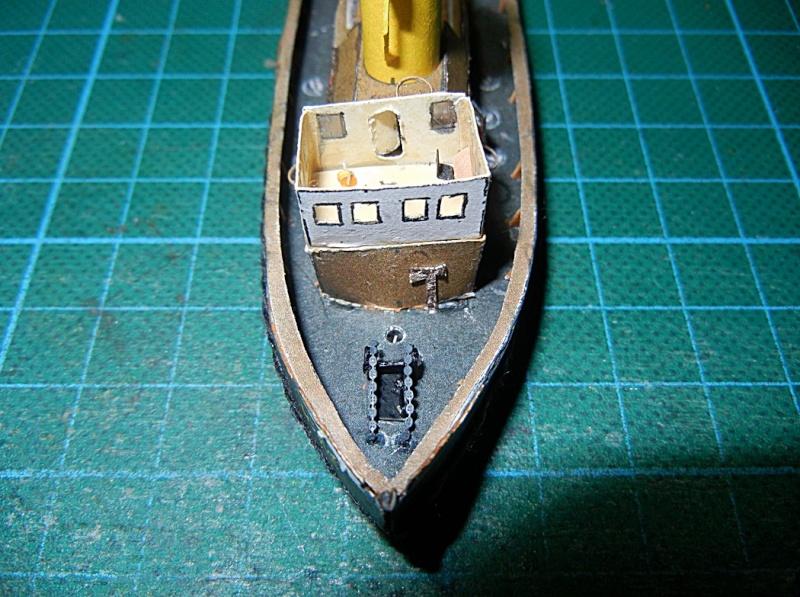 Schlepper Löwe, Walter Otten Modellbau, 1:250 Lawe_711