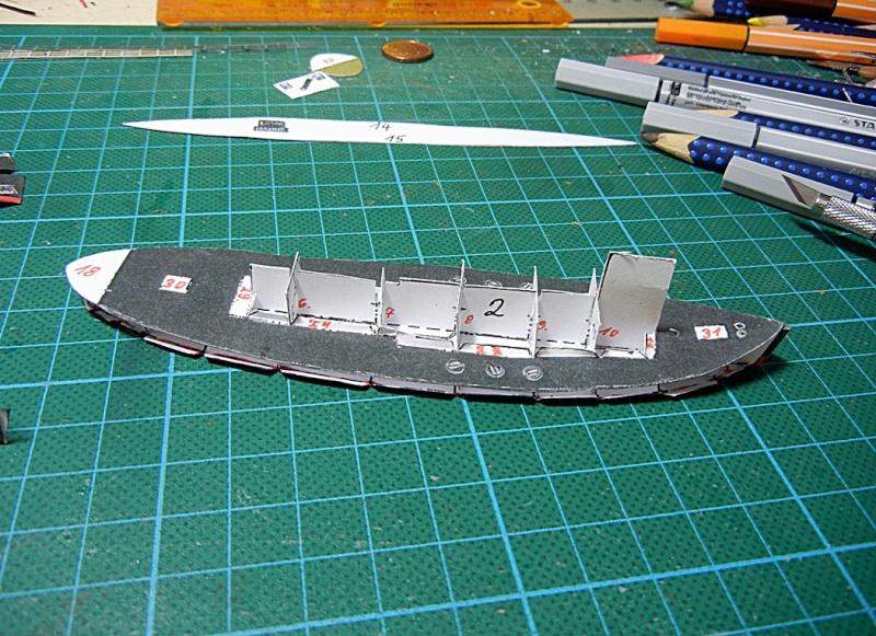 Schlepper Löwe, Walter Otten Modellbau, 1:250 Lawe_810