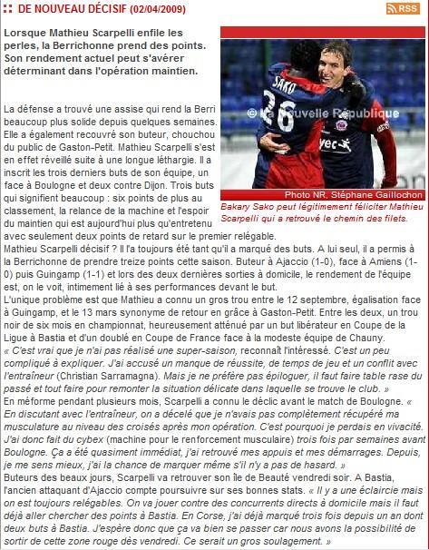Berrichonne de Chateauroux - Page 3 Matt10