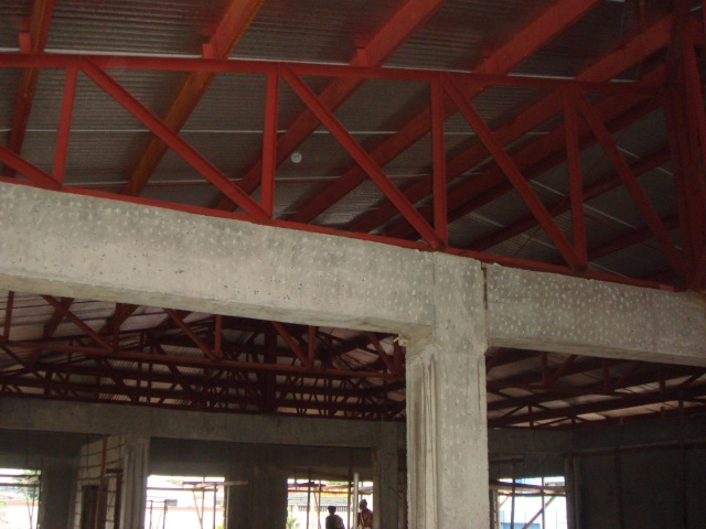 LTO Pasay New Building Roof Framing - Page 2 Dsc04320
