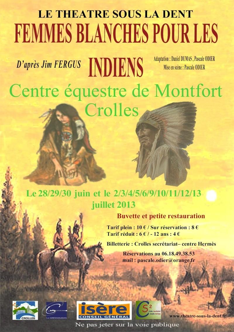 Théâtre à cheval Flyerf10