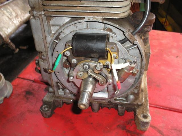 Bernard - Problème de volant magnétique sur Bernard W9 P4270011
