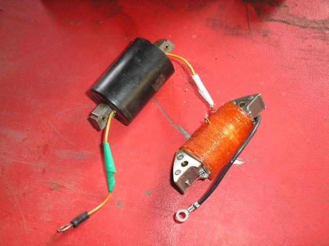 Bernard - Problème de volant magnétique sur Bernard W9 P4270012
