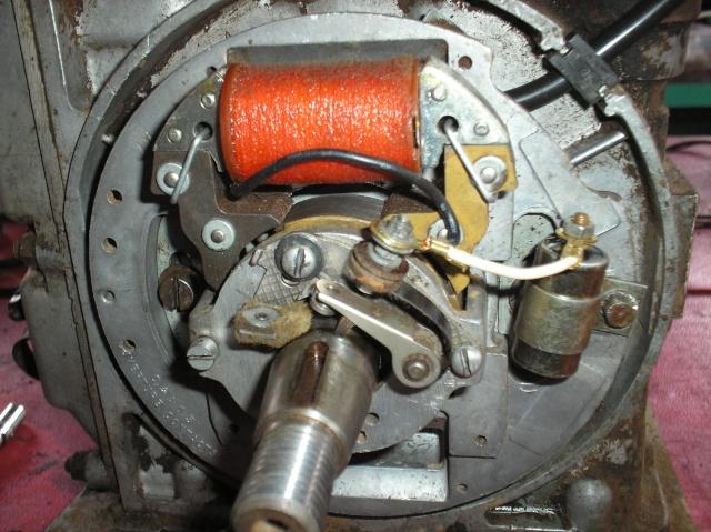 Bernard - Problème de volant magnétique sur Bernard W9 P4270014
