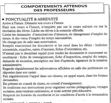 Ce que cache votre note administrative Admcom10