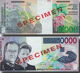 billets et pieces de belgique 10000_10