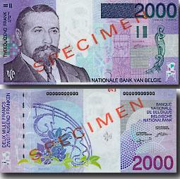 billets et pieces de belgique 2000_f10