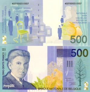 billets et pieces de belgique 500_fb10