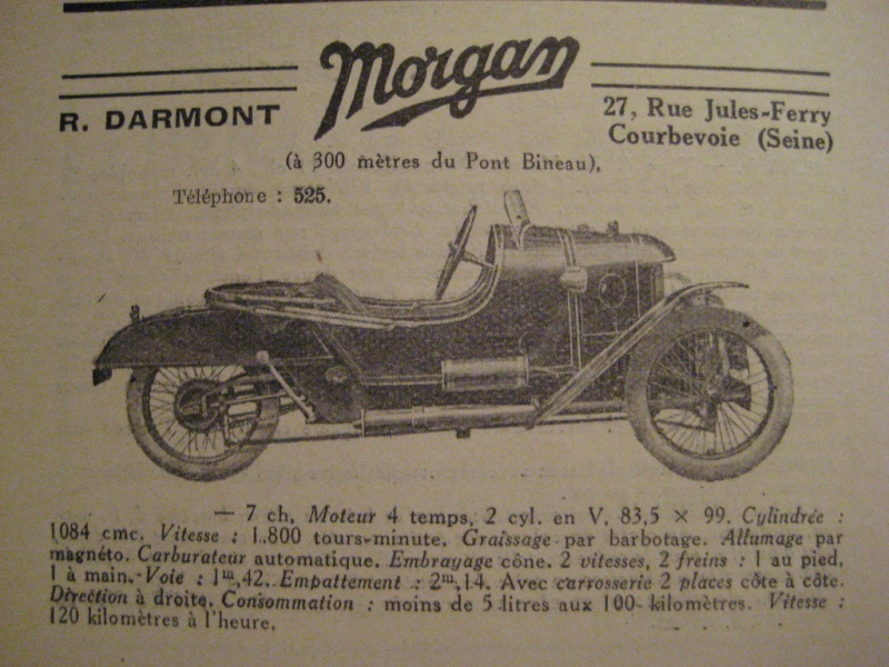 Darmont tricyclecar 27534010