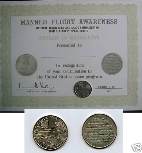 Pièces en Euros commémoratives Apollo et Année Mondiale de l'Astronomie Piace_10