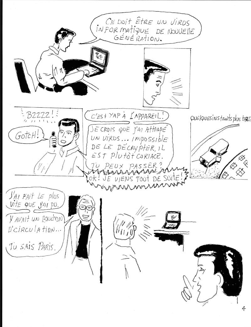 Nom de code: Monsieur bd... !3 pages Page411