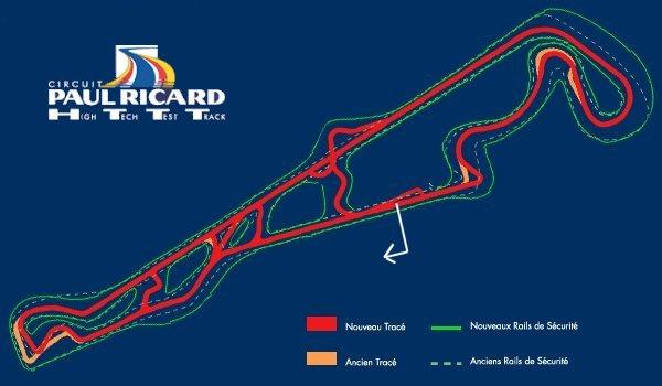 Journée roulage au Castellet Track610