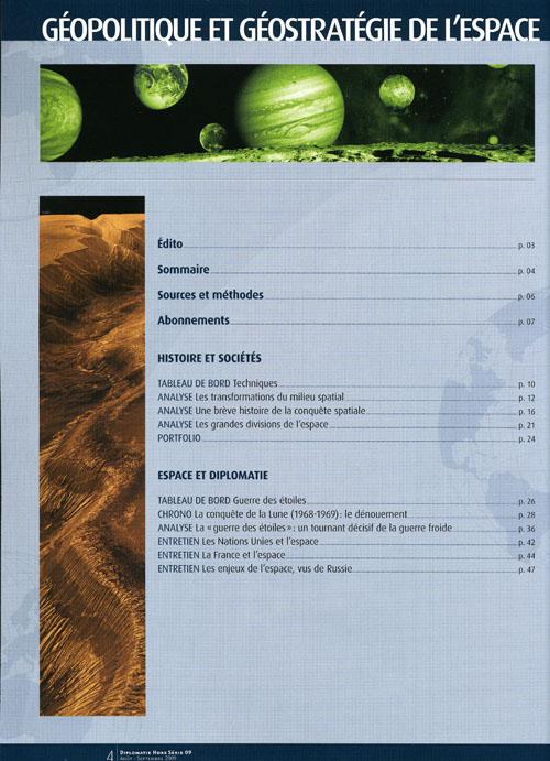 Diplomatie, n° special Diplo012