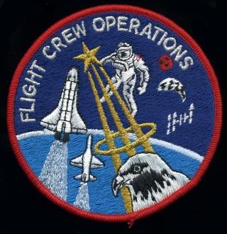 Quel est ce patch offert par Jean-Loup Chrétien ? Flight10