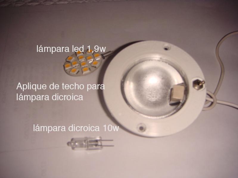 CAMBIAR BOMBILLAS POR LEDS Cambio10