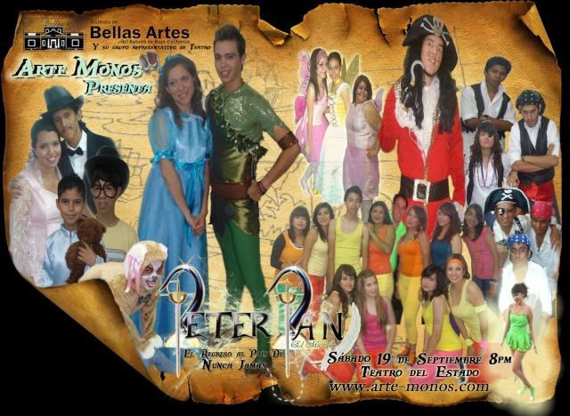 """Peter Pan el Musical 2009 """"El Regreso Al País de Nunca Jamás""""... próximamente!!! Elenco10"""