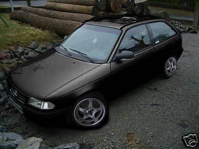 Mal dad Auto schwarz machen Astra_11