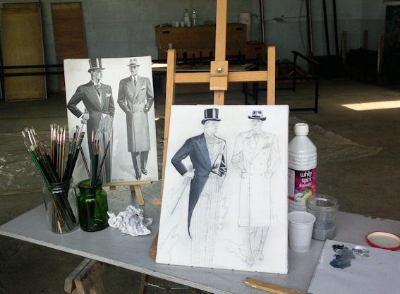 Ateliers 2012-2013 .... travail en cours .... - Page 2 Colett11