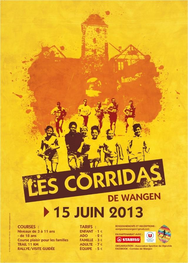 Les Corridas de Wangen , 2ème édition, samedi 15 juin 2013 Corrid10