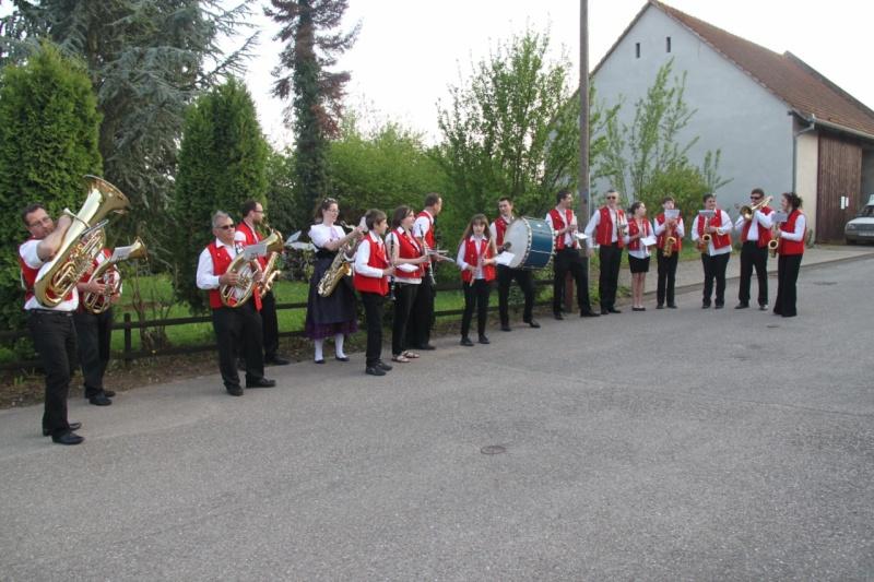Aubade de la Musique Harmonie de Wangen ,dimanche 5 mai 2013 Img_2629