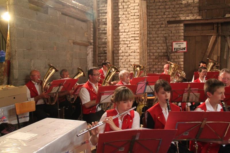 La Musique Harmonie de Wangen à la fête de la musique de Quatzenheim 15 juin 2013 Img_3511