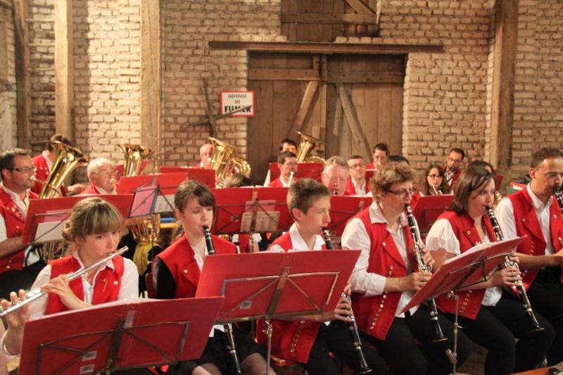 La Musique Harmonie de Wangen à la fête de la musique de Quatzenheim 15 juin 2013 Img_3512
