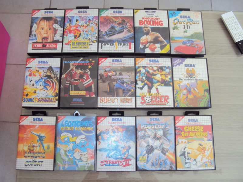 Collection Master system Goldmarkus 00512