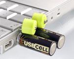 Pilas recargables con conector USB incorporado Laptop10