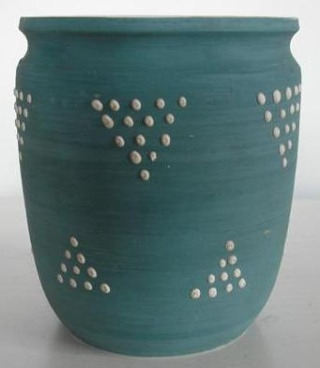 Daniel Steenstra vases including a Spotty Shape No.10 Daniel11