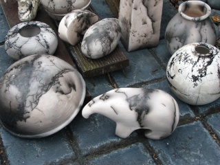 Pottery related...... Horsehair firing Horseh11