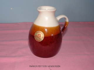 Parker Pottery Bottle / Harry Hargreaves  Johns_12