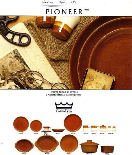Pioneer Crown Lynn Tableware Pionee12