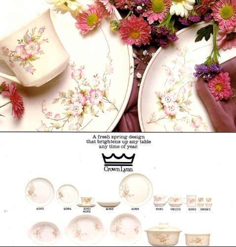Spring Fair Crown Lynn Tableware Spring12