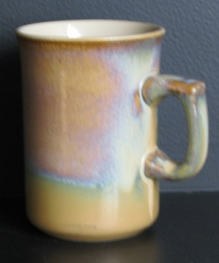 Temuka coffee cup - but I have never seen the glaze before..... Temuka14