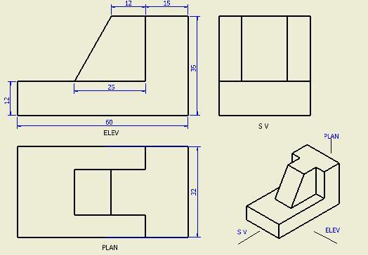 حلول تمارين الرسم الهندسي pdf