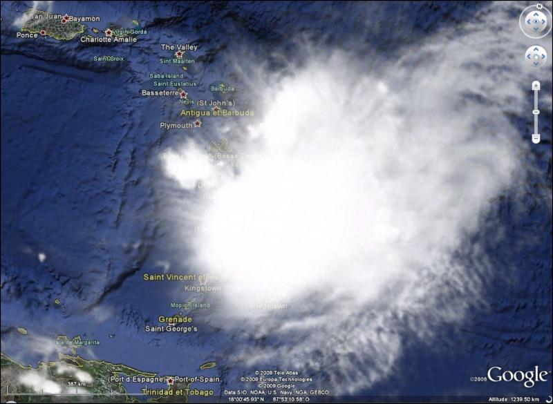 sale temps à la Martinique Erika10