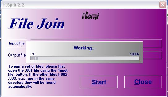 تحميل وشرح برنامج Hjsplit لفك ملفات الافلام بامتدادات مختلفه - صفحة 11 510