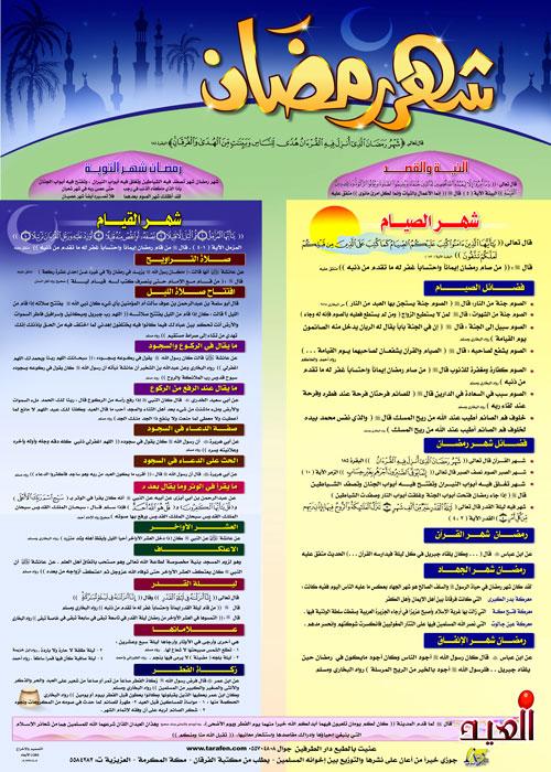 دروس هامة لكل مسلم في شهر رمضان 5910