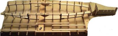 John`s Schlachtschiff Bismarck 1:200 von Amati Bauabs12