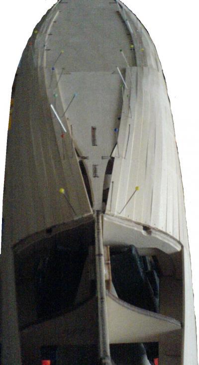 John`s Schlachtschiff Bismarck 1:200 von Amati Bauabs15