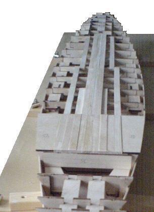 John`s Schlachtschiff Bismarck 1:200 von Amati Bauabs17