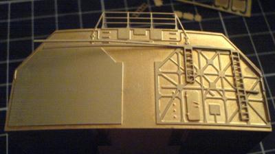 John`s Schlachtschiff Bismarck 1:200 von Amati Bauabs39