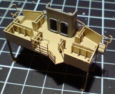 John`s Schlachtschiff Bismarck 1:200 von Amati - Seite 2 Bauabs54